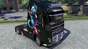 Kosmos skin for Volvo 2012