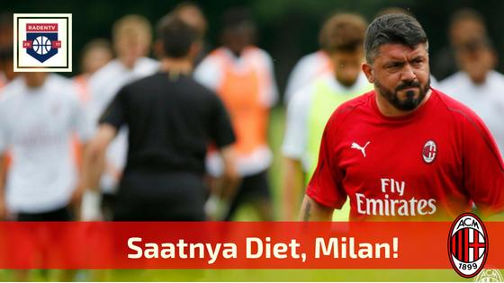 Saatnya Diet, Milan!