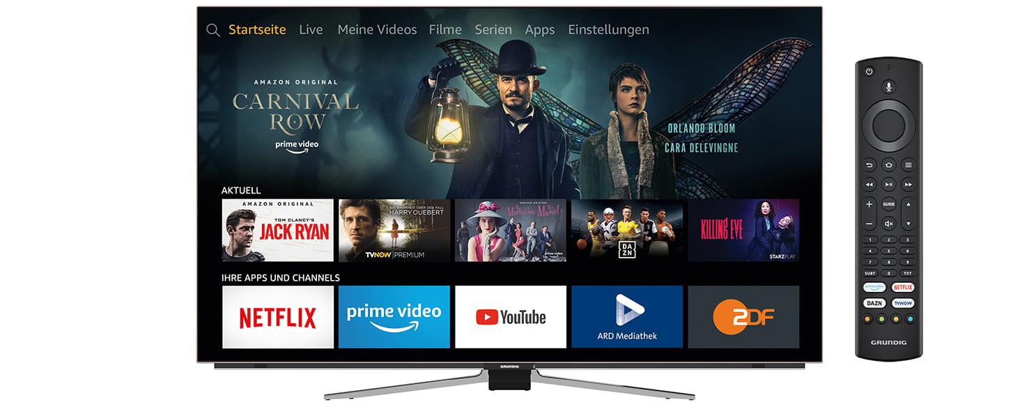 Amazons Fire TV Cube und Fernseher, Soundbars aus der Fire TV Edition können vorbestellt werden | Neues von Amazon