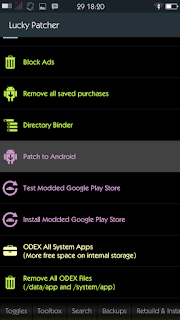 Screenshot pilih Patch To Android - catatandroid.blogspot.com