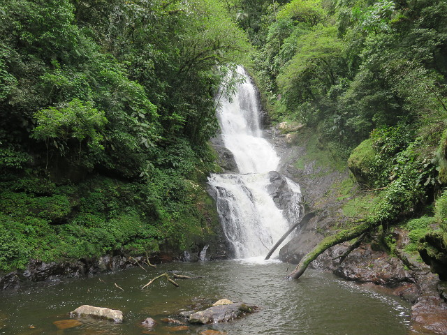 Surprise, the 12th waterfall of Rota das Cachoeiras. One of the highest waterfalls there.