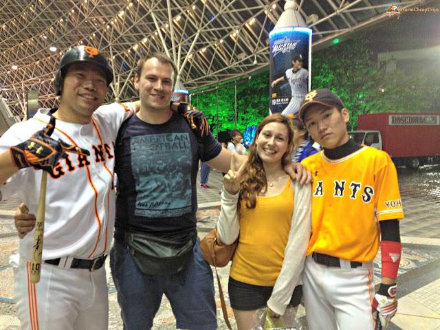 Baseball Giappone, Bigietti baseball giappone, Tokyo Baseball, Tomyo Giants, Giants Baseball, Tokyo Dome