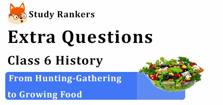 From Hunting-Gathering to Growing Food Extra Questions Chapter 2 Class 6 History