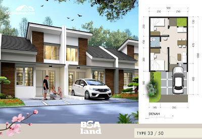 Rumah type 33 The Park