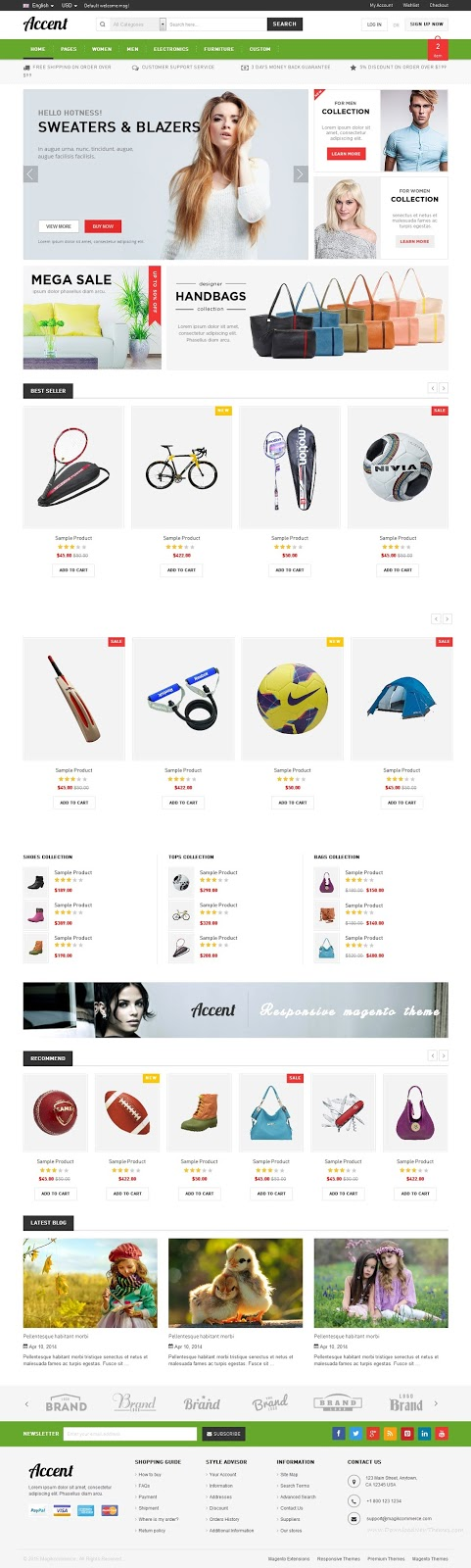 Best eCommerce Multipurpose HTML5 Template