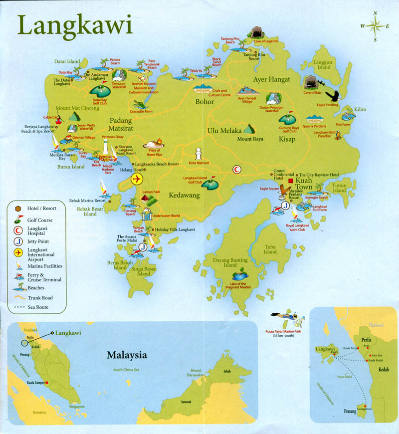 Langkawi Island: My Tour Guide Malaysia: Langkawi Intriguing Legends And