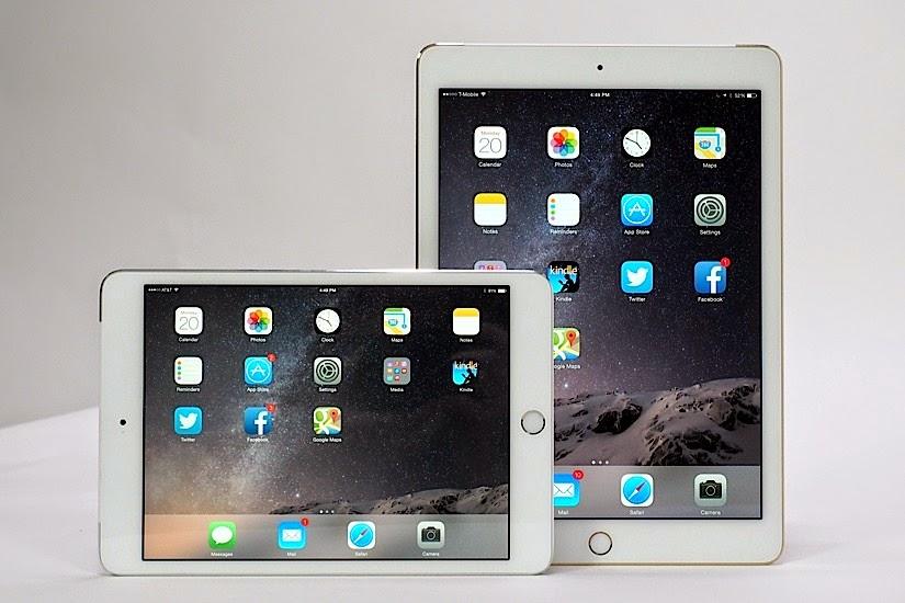 Harga iPad Air 2 dan iPad Mini 3 Terbaru 2017