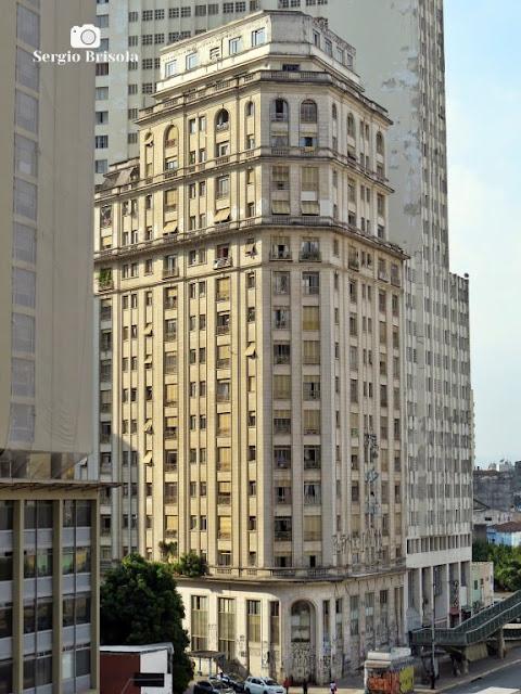 Vista ampla do Edifício Riskallah Jorge - Centro - São Paulo