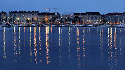 Finland's beautiful city Helsinki