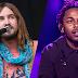 VIDEOS: Lady Gaga asiste a shows de Tame Impala y Kendrick Lamar en Los Ángeles - 27/08/16