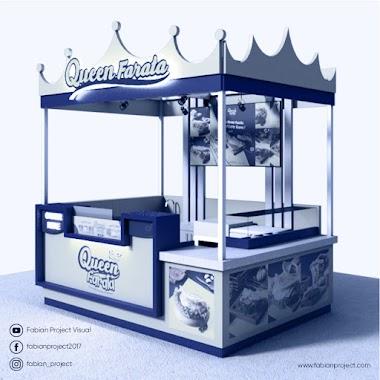 Design Booth Medium Queen Farata