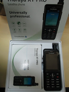 Hape Satelit Thuraya XT PRO New Plus Perdana