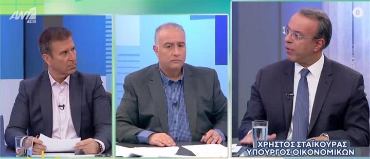 Χρ. Σταϊκούρας: Θέλουμε μείωση πλεονασμάτων στο 2% από το 2021