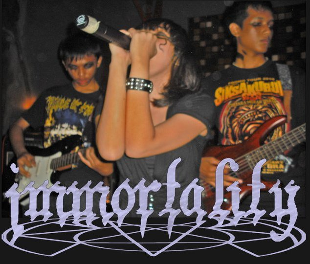 vokalis immortality gothic metal