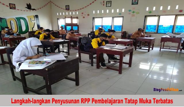 Berikut Langkah-langkan Penyusunan RPP Pembelajaran Tatap Muka Terbatas