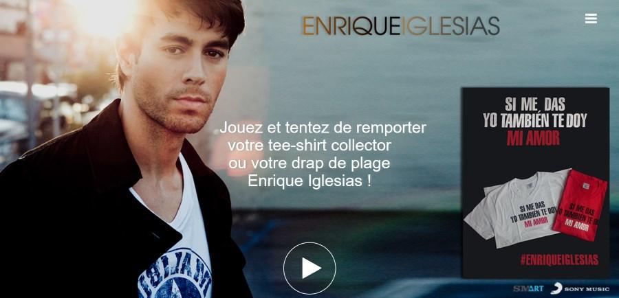 Concours Enrique Iglesias - Duele El Corazon