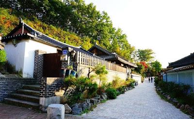 Gambar pemandangan korea keren