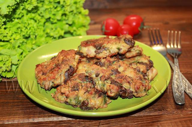 рецепт котлет с куриной печенью и куриным филе