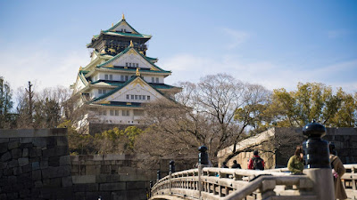 Osaka Castle Peninggalan Sejarah Kota Osaka