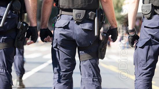 flagrante policial indicios crime sustentam condenacao