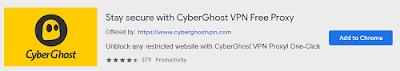 CyberGhostVPN | Best VPN Extensions for Chrome | Mr Tech Care