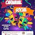 Carnaval Social será realizado pela Secretaria de Assistência Social nesta terça-feira (26/02)