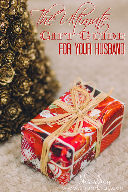 This gift guide has 6 different Christmas gift ideas for him, specifically for a husband.