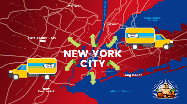 New Yorkers Look to Move to Suburbs: New Data Shows 250% Increase in Searches According to Moving Website moveBuddha.com