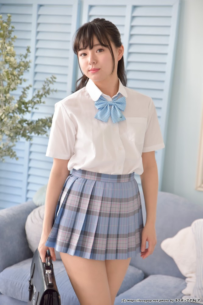 [LOVEPOP] Tsubasa Haduki 葉月つばさ mini-skirtuniform 制服ブラウス Photo (gset0025) – PPV [42.9 Mb]