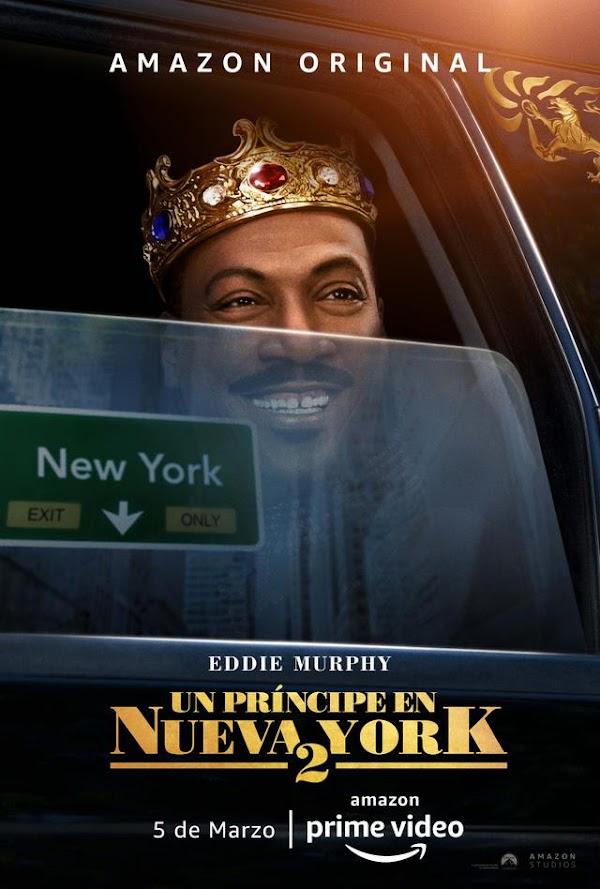 """Revelan póster oficial de """"Un príncipe en Nueva York 2"""" con Eddie Murphy"""