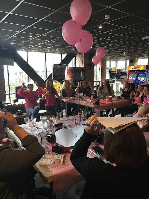 Bloggers inside Dough Bar at LPP Event