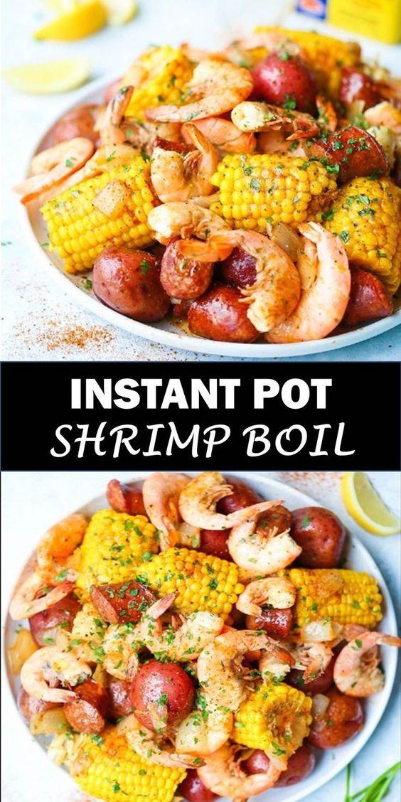 Easy Instant Pot Shrimp Boil