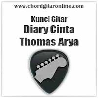 Chord Kunci Gitar Diary Cinta Thomas Arya
