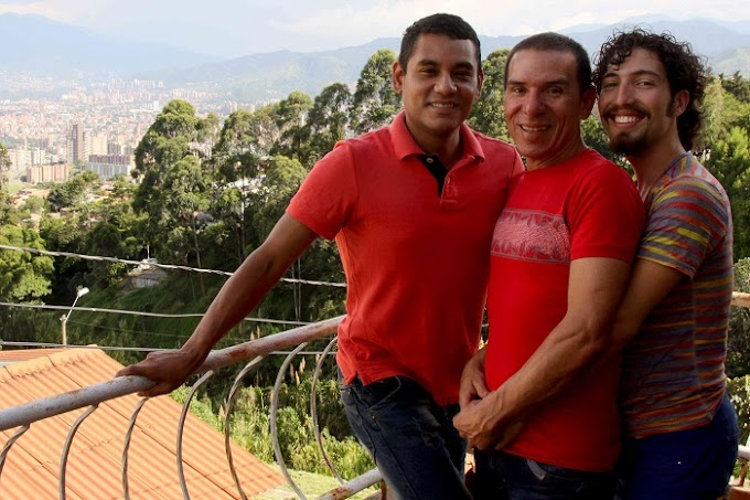 Colômbia reconhece pela primeira vez casamento entre três homens