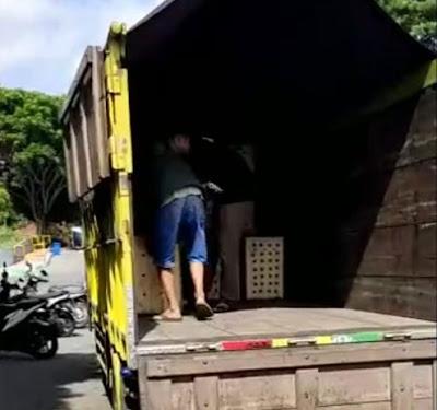 Sewa truk cdd Semarang Medan