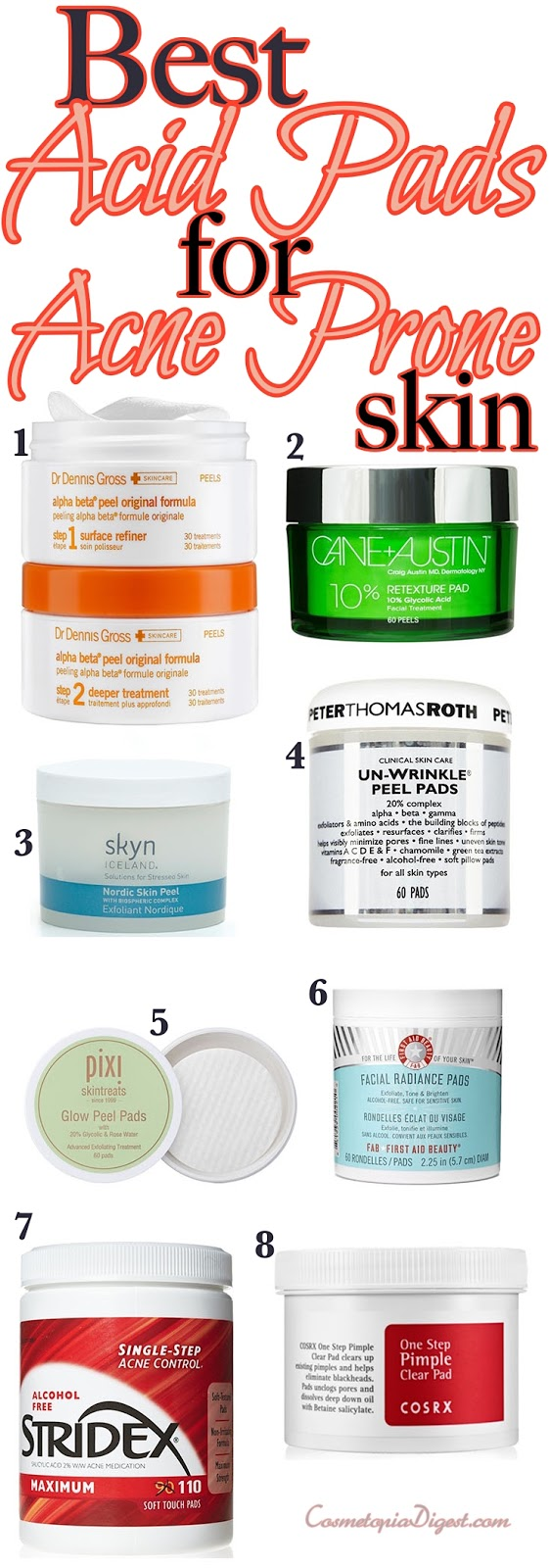 Best Acid Treatment Pads For Acne Prone Skin