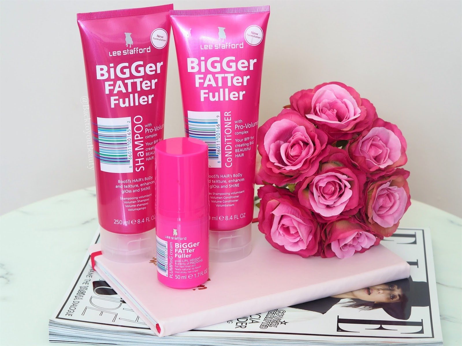 Lee Stafford Bigger Fatter Fuller Haircare Collection