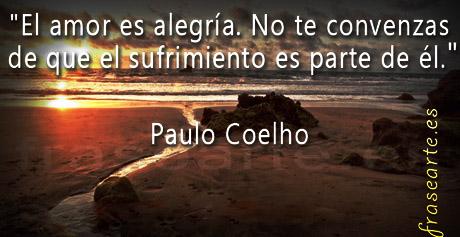 Frases de amor y desamor - Paulo Coelho