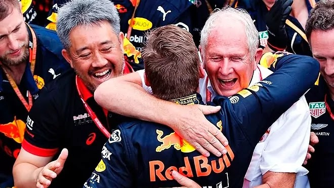 Red Bull Somos a combinação carro-piloto mais rápida