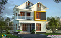 Cute Small Kerala Home Design - And