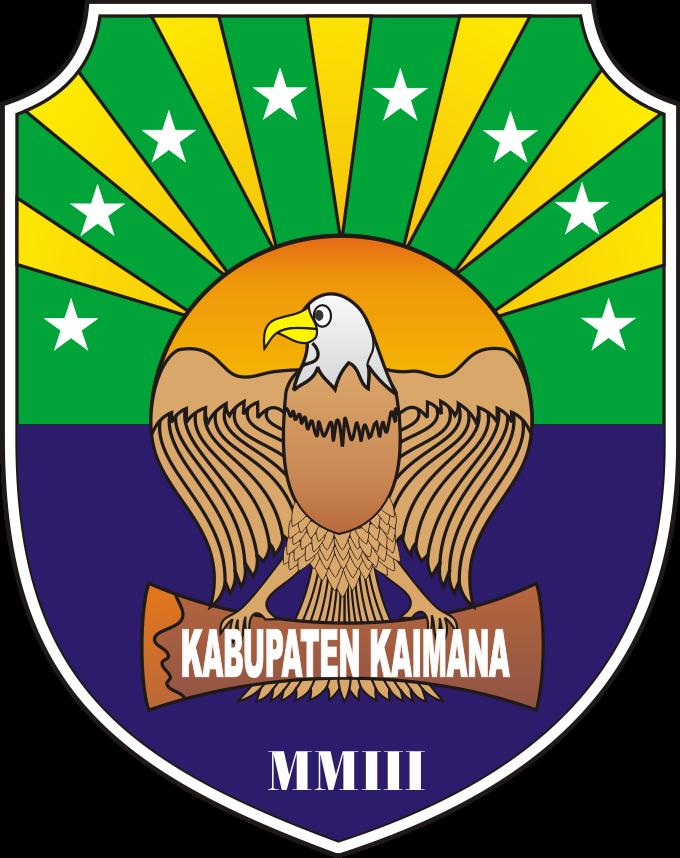 Lambang Kabupaten Kaimana Kumpulan Logo Lambang Indonesia