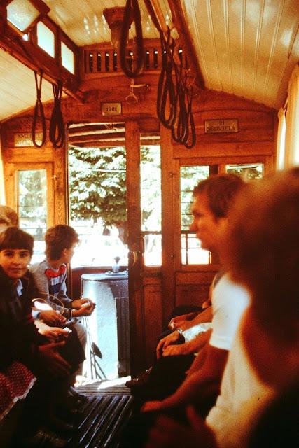 1986 год. Рига. Экскурсия по городу на ретро-трамвае