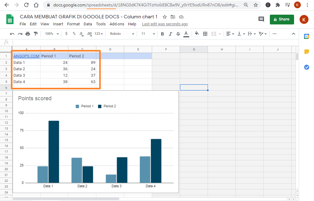 edit grafik di google docs