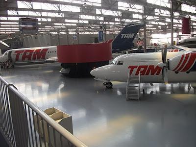 Museu da TAM -  São Carlos - SP