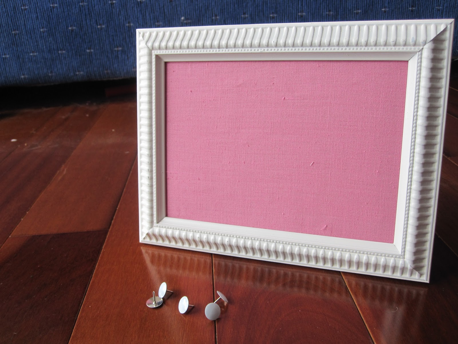 How To Pin Board Frame Crafted