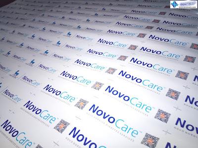 Waterproof Vinyl Sticker Labels - Novocare