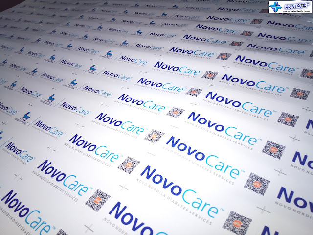Waterproof Vinyl Sticker Labels - Novocare