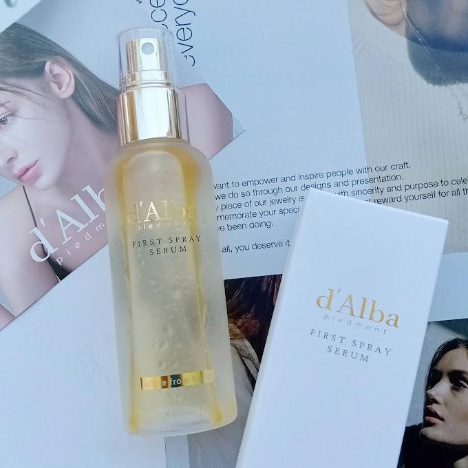 Review d'Alba Skincare Premium Korea - Haloanisa
