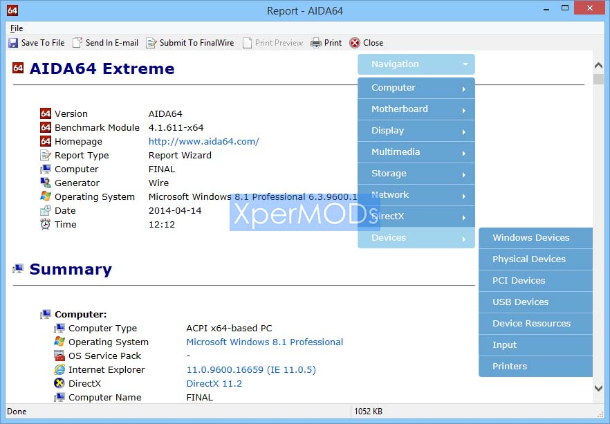 Aida64-Extreme-Crack-Free-Download | XperMODS