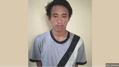 Pelaku Pencurian Kotak Amal Musala, Mohammad Rizal Diamankan Polsek Gresik Kota